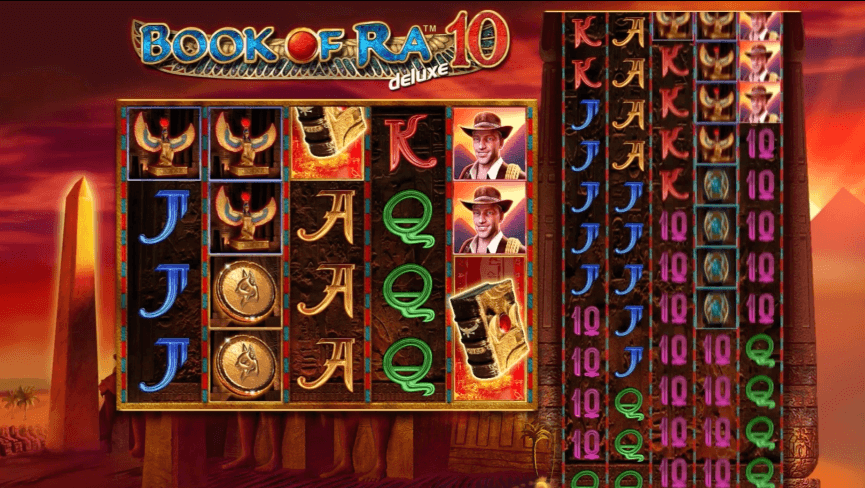 Book of Ra Deluxe 10 Game