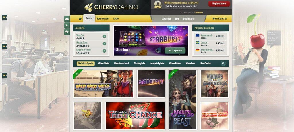 cherry casino merkur