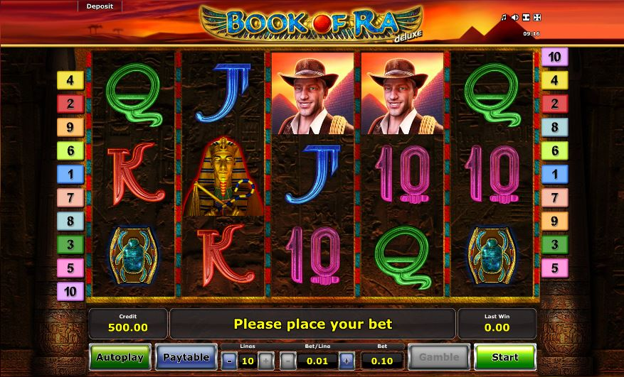 casino free spins book of ra