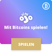 Playojo mit Bitcoins