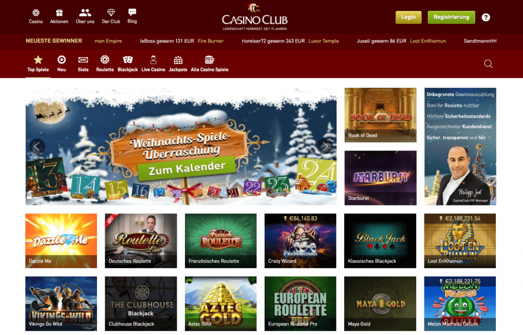 Casino Club Roulette Bonus