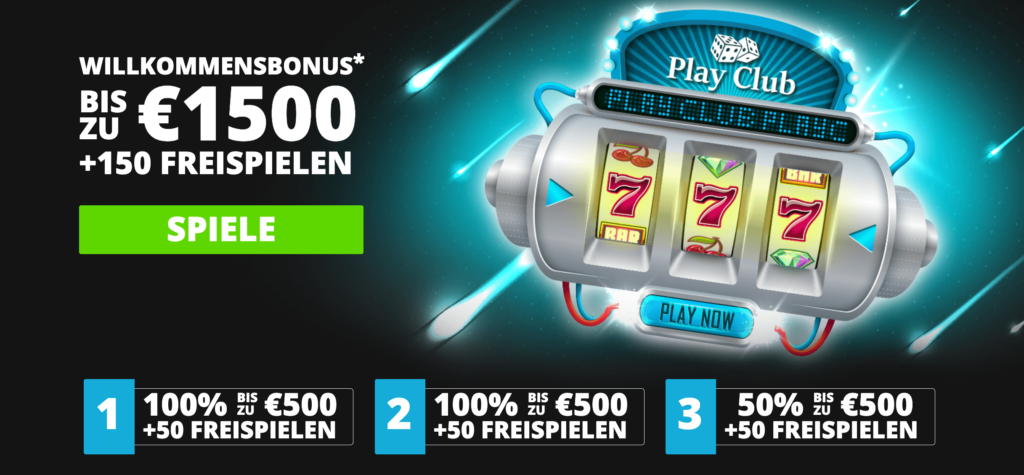 Play Club Bonus Code